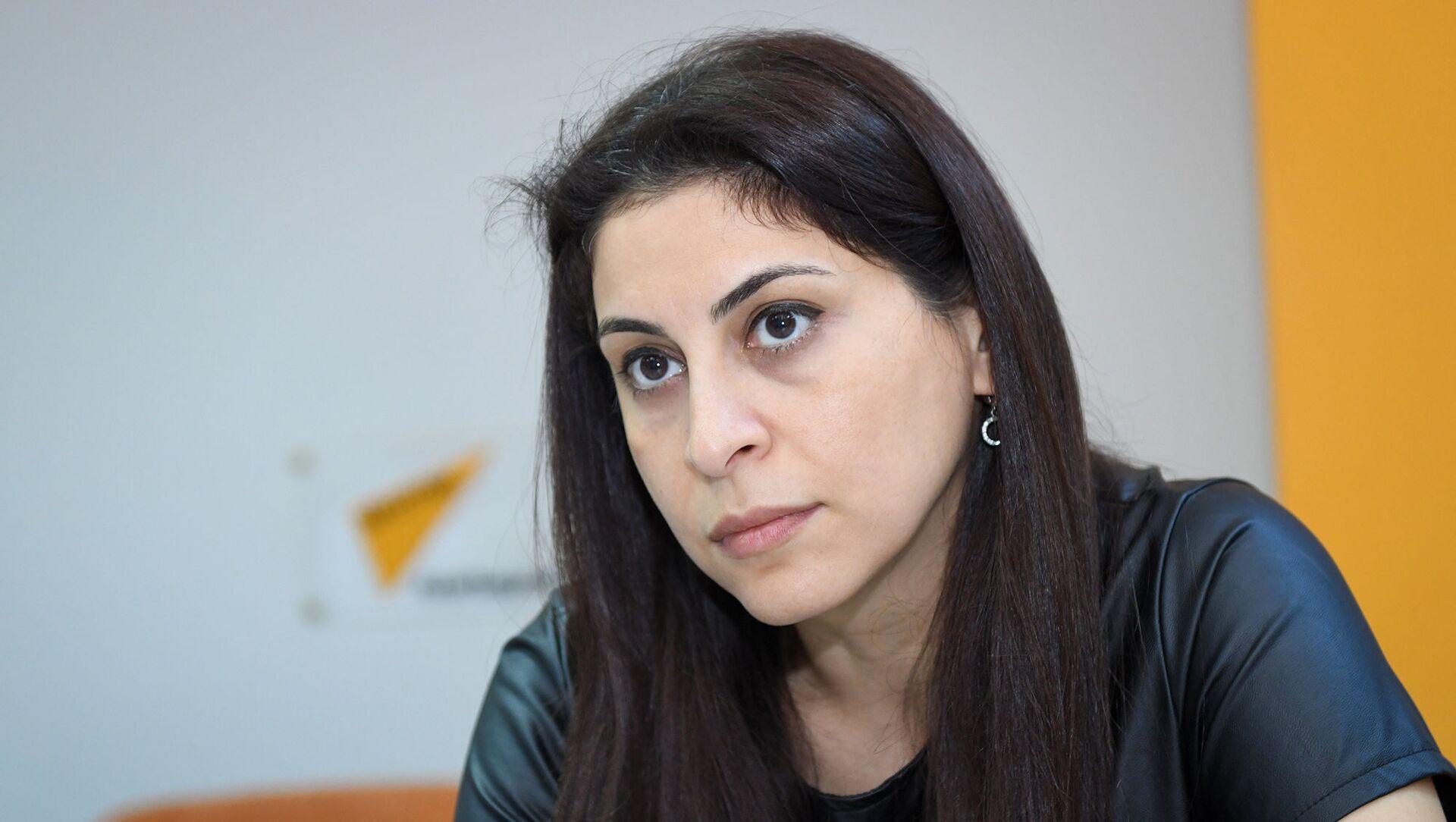 Политолог Рамия Мамедова - Sputnik Азербайджан, 1920, 09.02.2021