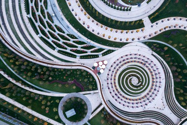 Парк Галицкого в Краснодаре - Sputnik Азербайджан