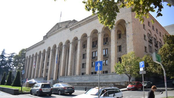 Парламент Грузии - Sputnik Azərbaycan