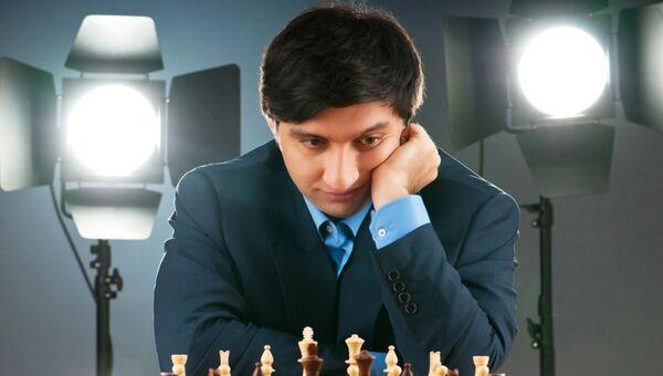 Азербайджанский шахматист Вугар Гашимов - Sputnik Азербайджан