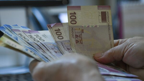 Пересчет денег, фото из архива - Sputnik Азербайджан