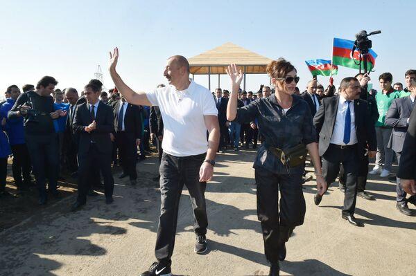 Вот уже семнадцать лет посол доброй воли ЮНЕСКО Мехрибан Алиева достойно выполняет свою миссию по пропаганде и защите нематериального культурного наследия.  - Sputnik Азербайджан