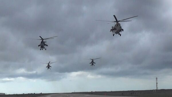 Оперативные учения ВВС Азербайджана - Sputnik Азербайджан
