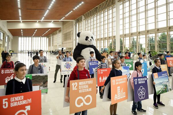 10-я юбилейная Азербайджанская международная выставка в области охраны окружающей среды - Sputnik Азербайджан