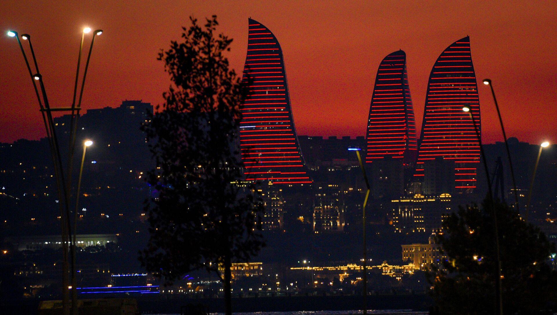 Вид на Баку, фото из архива - Sputnik Азербайджан, 1920, 05.07.2021