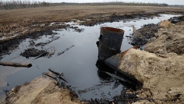 Разливы нефти  - Sputnik Азербайджан
