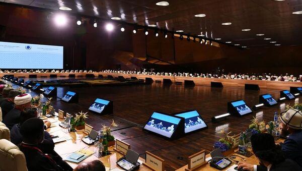 Dünya dini liderlərinin II Bakı Sammiti - Sputnik Азербайджан