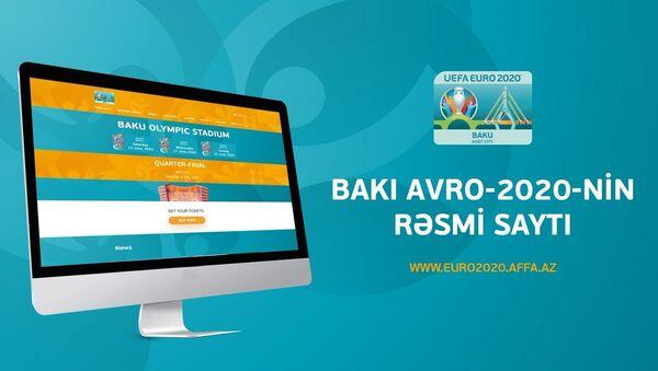 AFFA AVRO-2020/Bakıya həsr olunmuş yeni saytı istifadəyə verdi - Sputnik Азербайджан