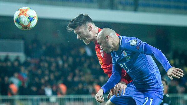 Матч отборочного цикла ЕВРО-2020 между сборными Азербайджана и Уэльса в Баку - Sputnik Азербайджан