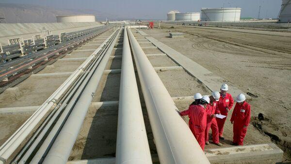 Строительные работы трансанатолийского газопровода (TANAP), фото из архива - Sputnik Азербайджан