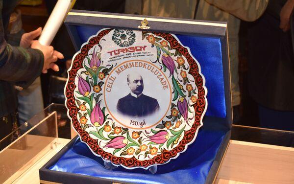 Открытие дома-музея Джалила Мамедгулузаде после ремонта - Sputnik Азербайджан