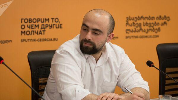 Политолог Арчил Сихарулидзе - Sputnik Азербайджан