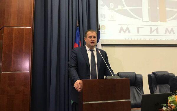 В МГИМО состоялось открытие Недели Азербайджана - Sputnik Азербайджан