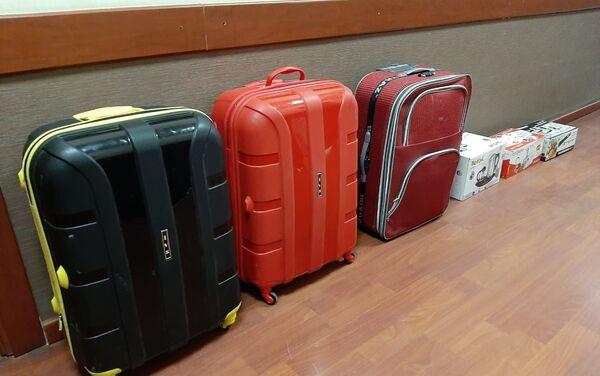Украденная бытовая техника и багаж - Sputnik Азербайджан