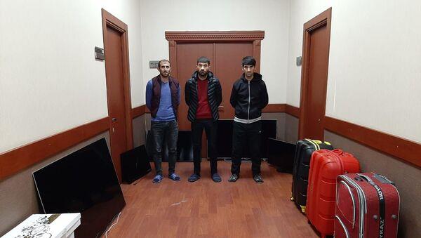 Участники преступной группировки - Sputnik Азербайджан