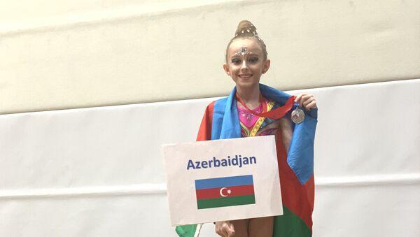 Azərbaycanlı gimnast Mina Abbasova - Sputnik Azərbaycan