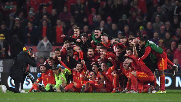 Футболисты сборной Уэльса - Sputnik Азербайджан