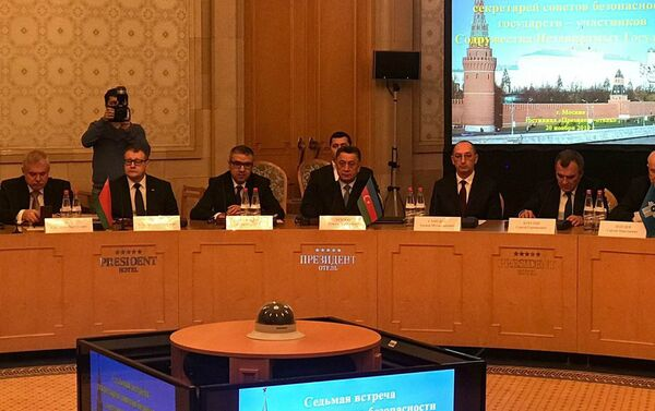Рамиль Усубов на VII встрече секретарей Совбеза стран СНГ - Sputnik Азербайджан