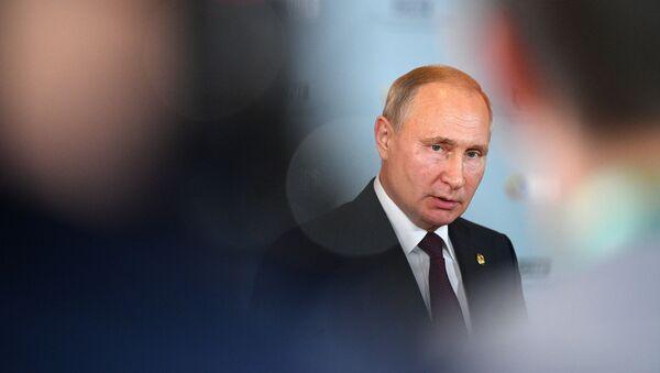 Президент России Владимир Путин, фото из архива - Sputnik Azərbaycan