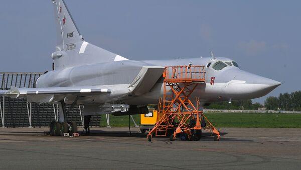 Дальний ракетоносец-бомбардировщик Ту-22М3 - Sputnik Азербайджан