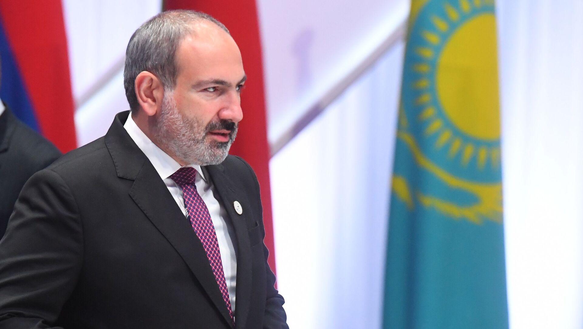 Премьер-министр Армении Никол Пашинян, фото из архива - Sputnik Azərbaycan, 1920, 16.09.2021