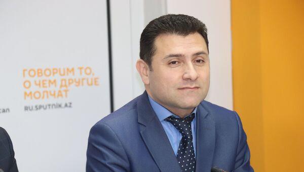 Председатель Союза риелторов Азербайджана Эльнур Азадов - Sputnik Азербайджан