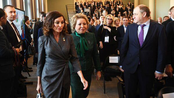 Десятый российско-азербайджанский межрегиональный форум в Москве - Sputnik Azərbaycan