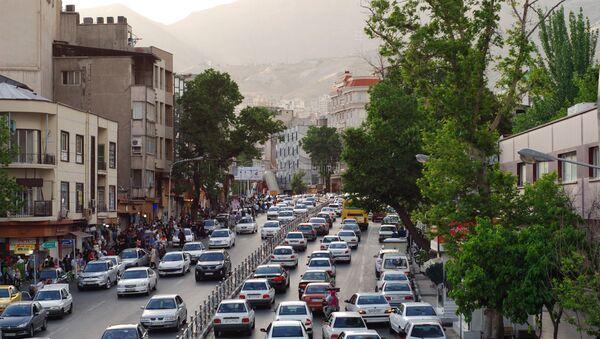 Дорожное движение на севере Тегерана - Sputnik Азербайджан