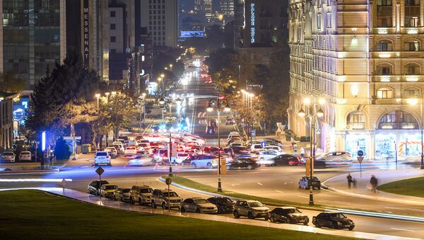 Автомобильное движение в Баку - Sputnik Azərbaycan