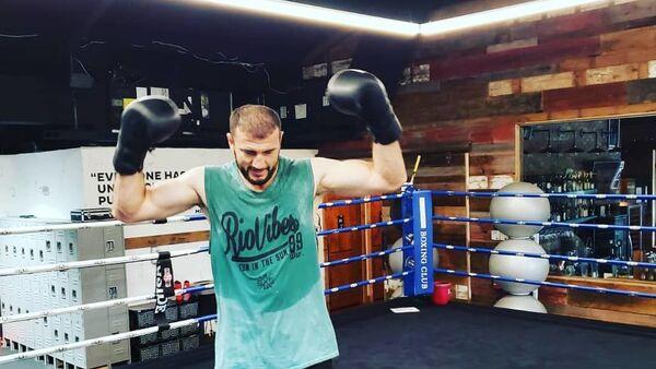 Азербайджанский боксер Магомедрасул Меджидов - Sputnik Азербайджан