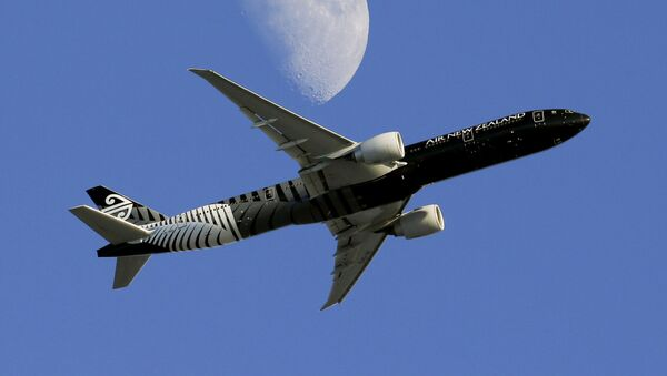 Пассажирский самолет компании Air New Zealand - Sputnik Азербайджан