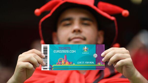 Билеты на матч ЕВРО-2020 - Sputnik Азербайджан