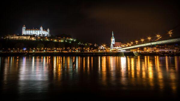 Вид на Братиславу - Sputnik Азербайджан