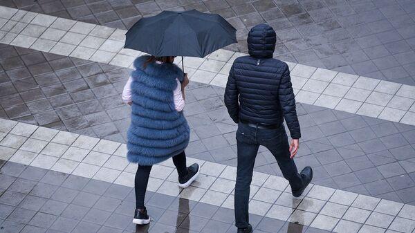 Дождливая погода в Баку - Sputnik Азербайджан