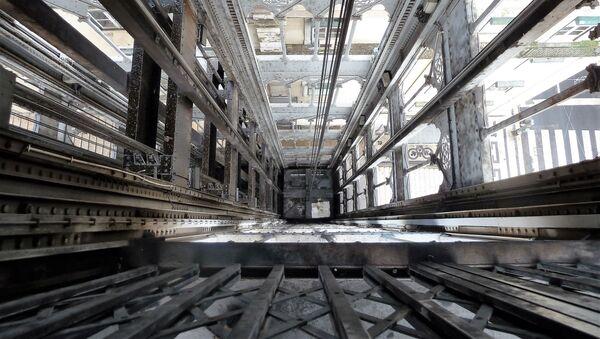 Lift şaxtası - Sputnik Azərbaycan