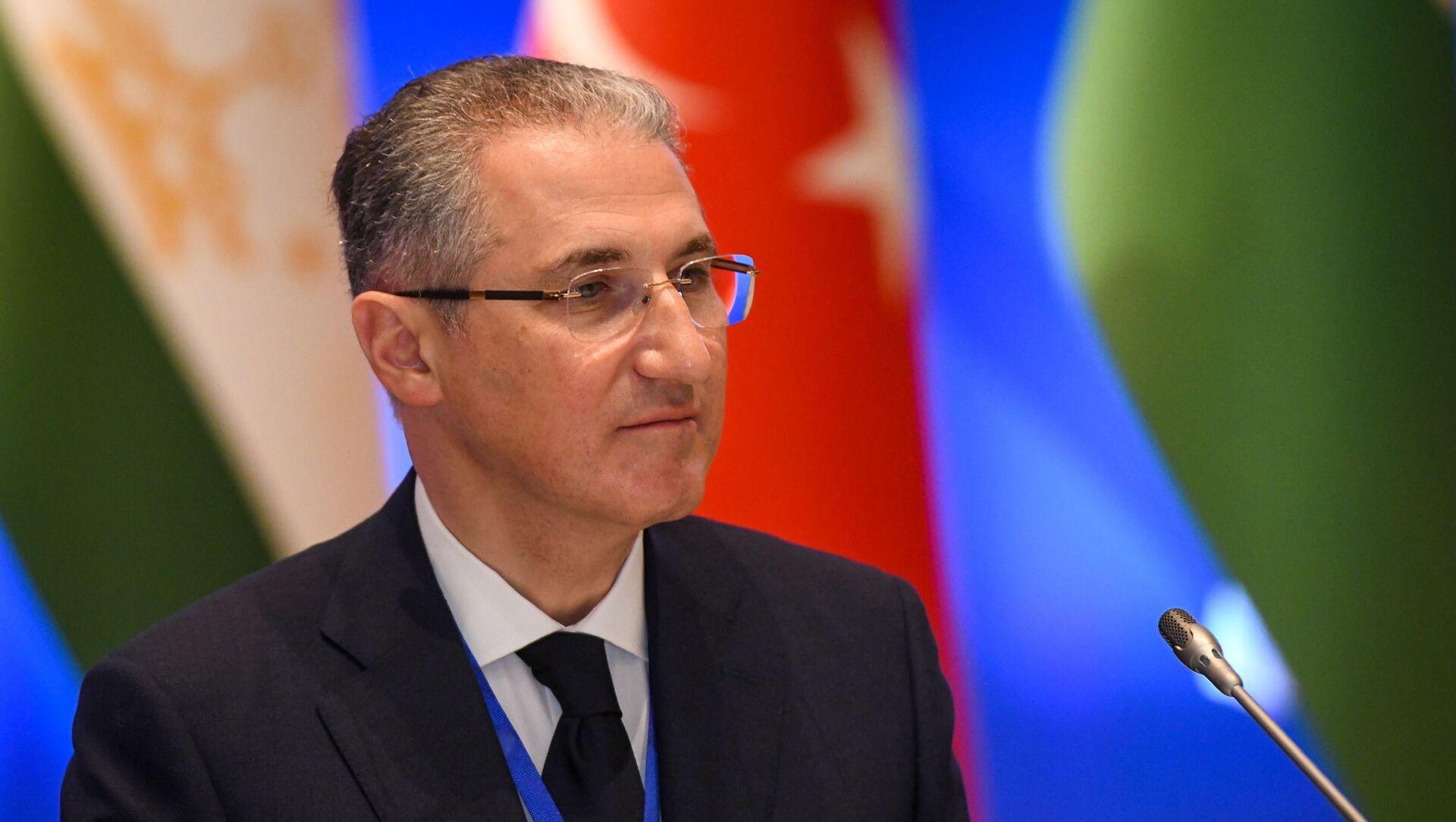 Министр экологии и природных ресурсов Мухтар Бабаев - Sputnik Azərbaycan, 1920, 17.09.2021