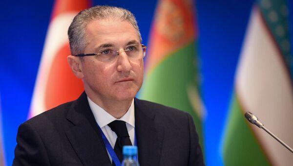 Министр экологии и природных ресурсов Мухтар Бабаев - Sputnik Азербайджан