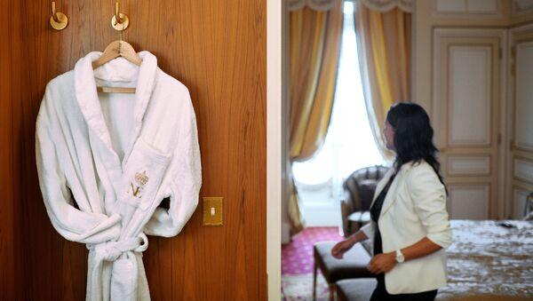 Номер отелья, фото из архива - Sputnik Азербайджан