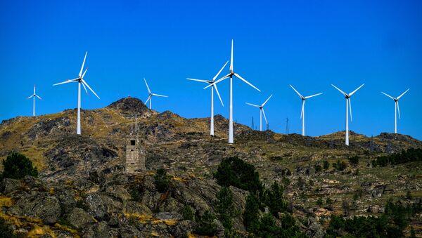 Ветровая электростанция - Sputnik Азербайджан