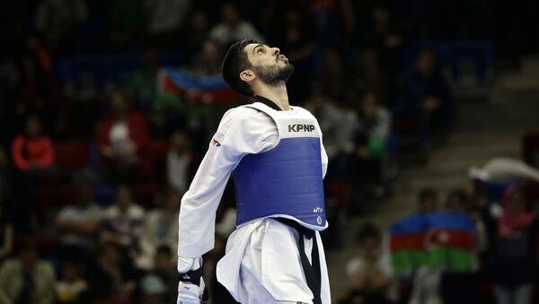 Азербайджанский таэквондист Милад Бейги Харчегани - Sputnik Азербайджан