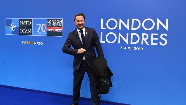 Премьер-министр Люксембурга Ксавье Беттель на саммите НАТО в Лондоне - Sputnik Азербайджан