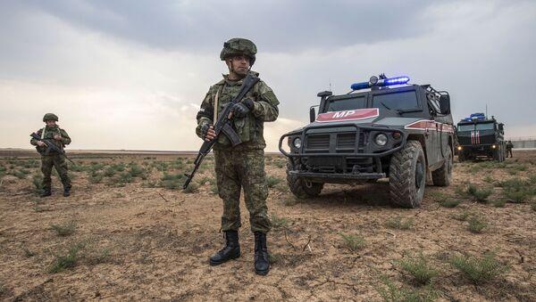 Российские военные в Сирии, фото из архива - Sputnik Азербайджан