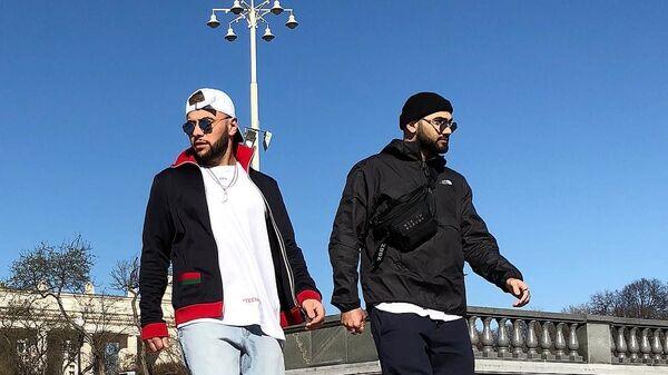 Азербайджанские рэперы Александр Алиев и Наваи Бакиров (дуэт HammAli&Navai) - Sputnik Азербайджан