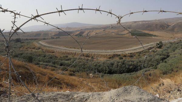Государственная граница, фото из архива - Sputnik Азербайджан