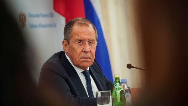 Министр иностранных дел России Сергей Лавров - Sputnik Азербайджан