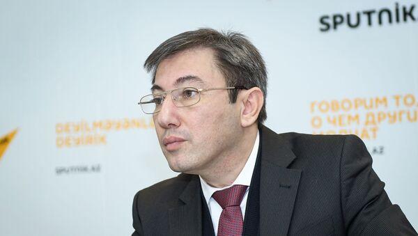 Руководитель Клуба политологов Южный Кавказ Ильгар Велизаде - Sputnik Азербайджан