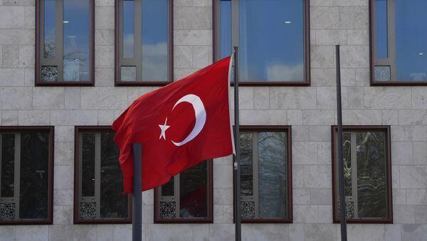 Турецкий флаг  - Sputnik Азербайджан