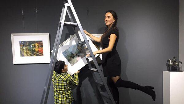В Leyla Khazary Art Galery открылась фотовыставка Ирады Асадовой «Dreams About Stockholm» («Мечты о Стокгольме») - Sputnik Азербайджан