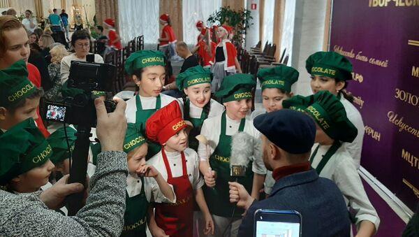 Коллектив театра-студии Гюнай - Sputnik Азербайджан