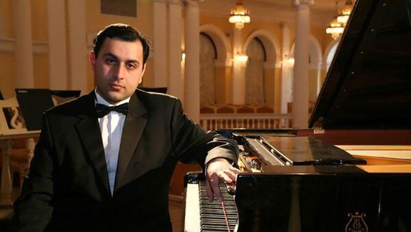Пианист Мурад Гусейнов - Sputnik Азербайджан